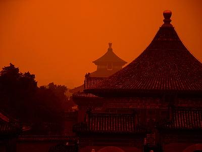 Kina, templet, Heaven, arkitektur, Asia, Kinesiska, religion