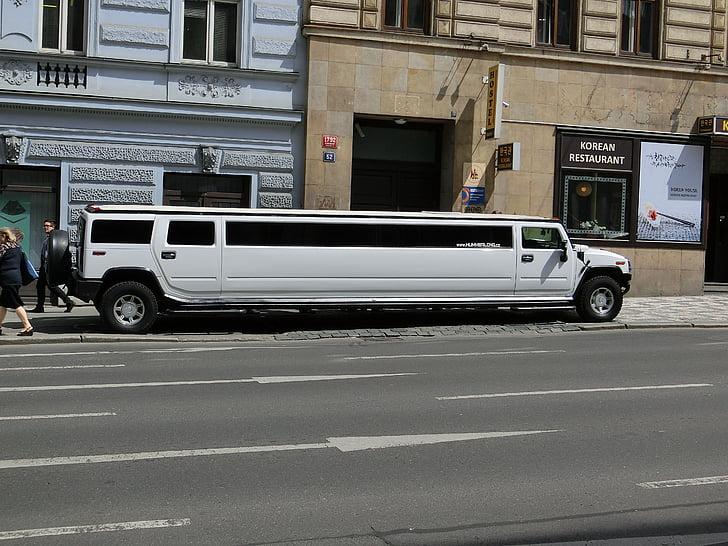 estirament limusina, Hummer h2, llim, limusina, auto, luxe, tram