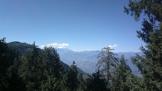 mägi, loodus, India, maastik, loodus, maastik, Suvine maastik, Vaade