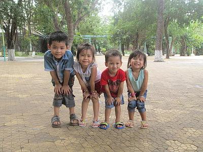 copii, mic, drăguţ, drăguţ, copil, în aer liber, băieţi