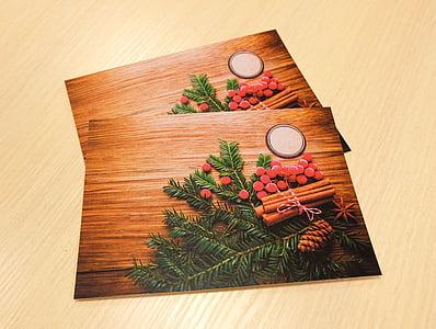 carte postala, Ajunul Anului Nou, Crăciun, 2017, design, felicitare, pomul de Crăciun