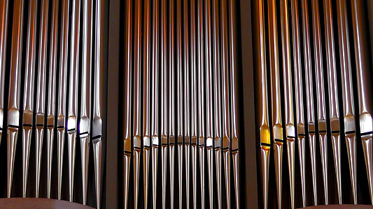 organų švilpukas, organų, bažnyčia, bazilika, Tryras, švilpukas, priemonė