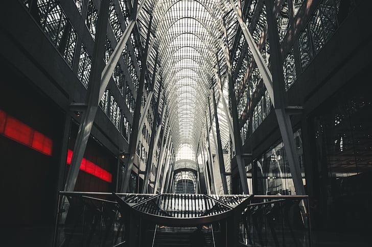edifici, struttura, architettura, progettazione, linee, vetro, finestra