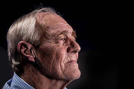 people, old, elderly, man, dark, senior Adult, human Face
