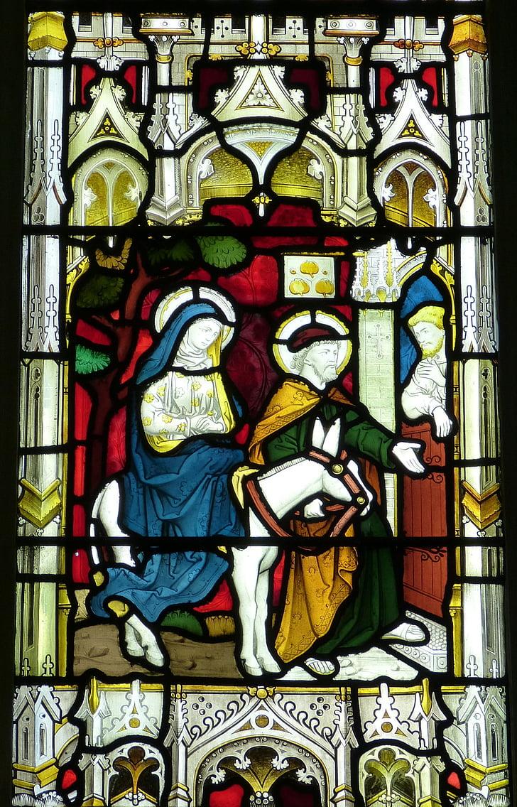 l'església, finestra, finestra de l'església, vidrieres, antiga finestra, fe, Ambaixada