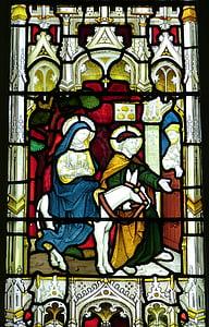 教会, 窗口, 教会的窗口, 彩色玻璃, 旧的窗口, 信心, 使馆