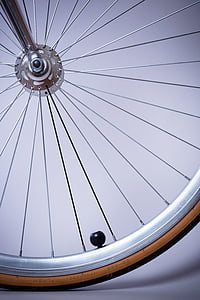 bicikala, bicikl, Krupni plan, obruč, žbice, kolo, krug