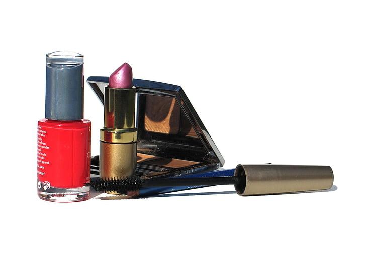 cosmètica, bellesa, llapis de llavis, HD, bodegons, blanc