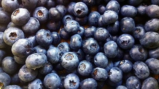 bobice, borovnice, hrana, svježe, voće, voće, zrela