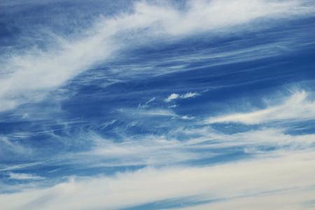 taivas, pilvet, sininen, pilvet taivas, Luonto, valkoinen, Sky pilvet