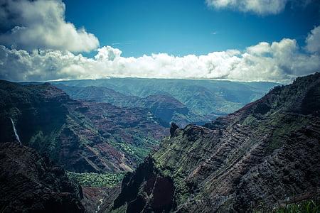 clouds, landscape, mountain, nature, outdoors, scenic, scenics