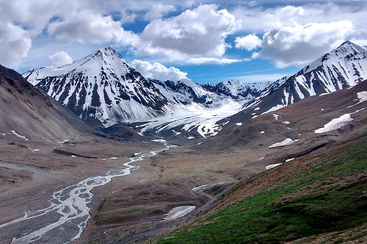 Denali, Parc Nacional, Alaska, muntanya, desert, nou país, pic