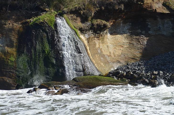 Costa de Oregon, Oregon, Océano Pacífico, Pacífico, acantilado, Océano, naturaleza