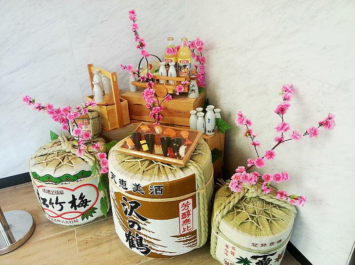 Japó, flor del cirerer, bodegons