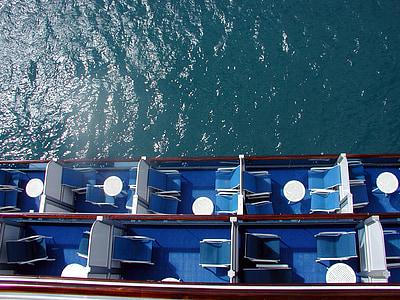 kryssning, semester, vatten, havet, fartyg, resor, Holiday
