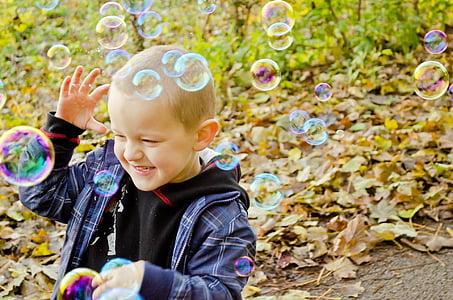 bubble, fun, colors, game, flight, light, background