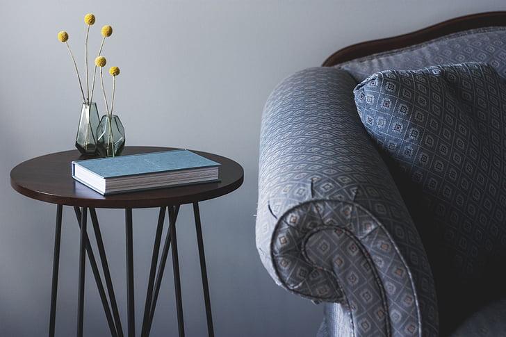 kėdė, baldai, uždarose patalpose, interjero dizainas, kambarys, sofos, lentelė