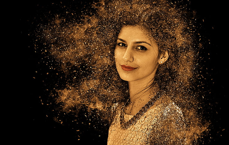 woman, portrait, sensual, pretty, hair, female, beautiful