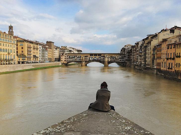 viatges, viatge en solitari, viatger, noia, Itàlia, viatge, destinació