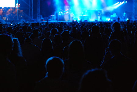 audience, concert, crowd, festival, nightlife, party, people