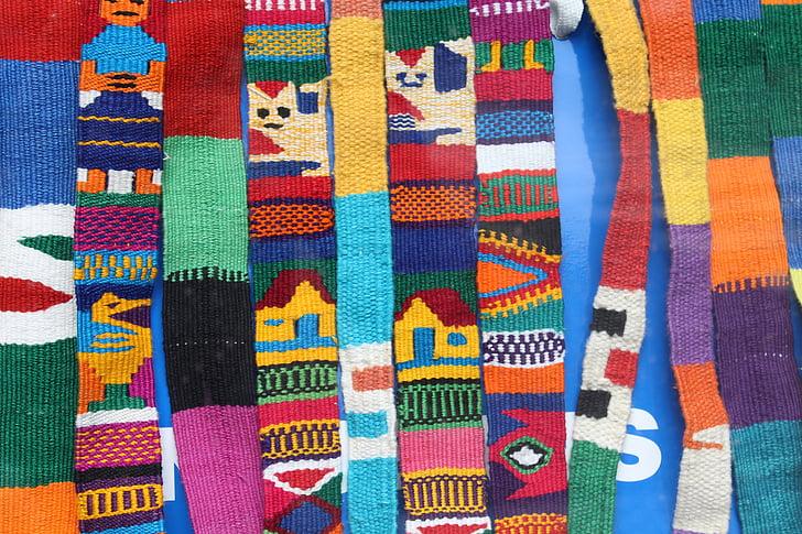 cinturons, colors, accessoris de roba, ètnica