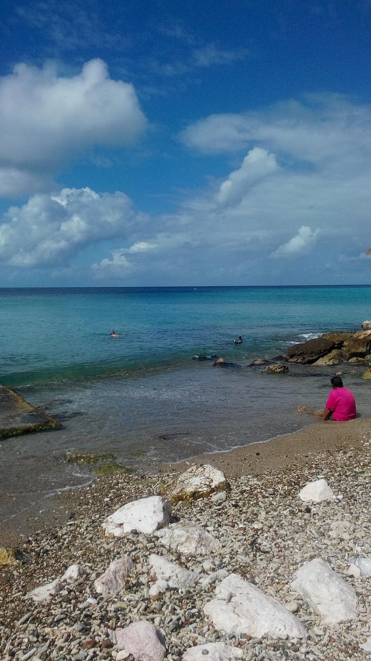zee, uitzicht op zee, Oceaan, reizen, strand, kust, tropische