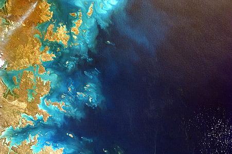 Côte, mer, Marine, océan, plage, eau, nature