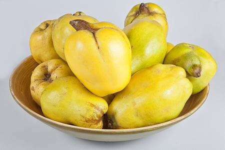 quince, yellow, fruits, pome fruit, fruit, quince fruit, fruit tree