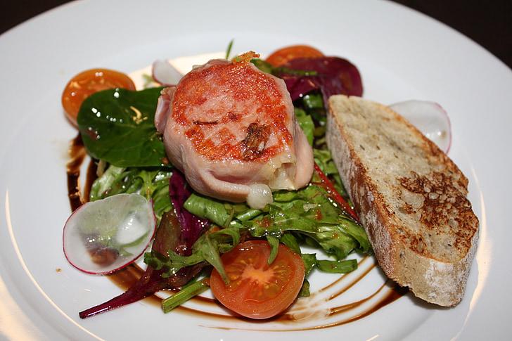 menjar, Restaurant, Entremès, aliments, gastronomia, Nutrició, deliciós