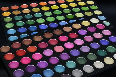 ombra d'ulls, cosmètica, paleta de colors, color, colors, conformen, Selector de color