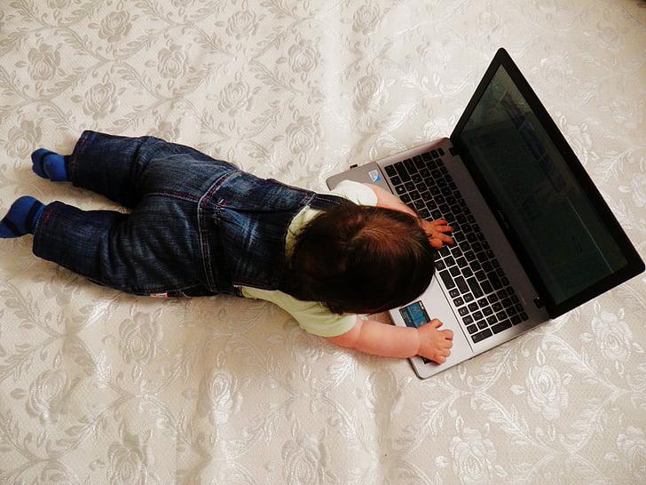 kid, technique, notebook, development, kids, game, baby