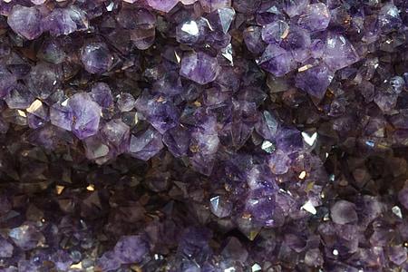 Ametüst, mineraal, Violet, kvarts, pärl, Crystal, Makro