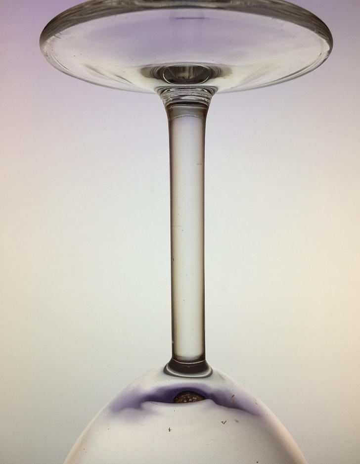 perfection, verre, blanc, transparent, Closeup, verres à vin, belle