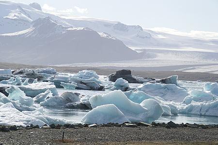 glacier, mood, iceland, ice, nature, snow, antarctica