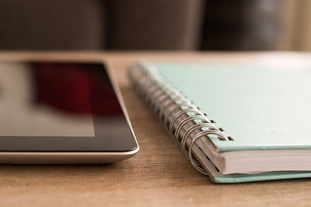 notebook, ipad, technology, screen, business, touch, digital