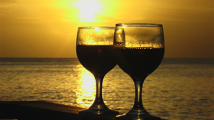 wine, holiday, rest, maldives