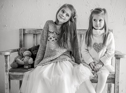 kids, girls, the little girl, baby photo, baby, portrait, joy