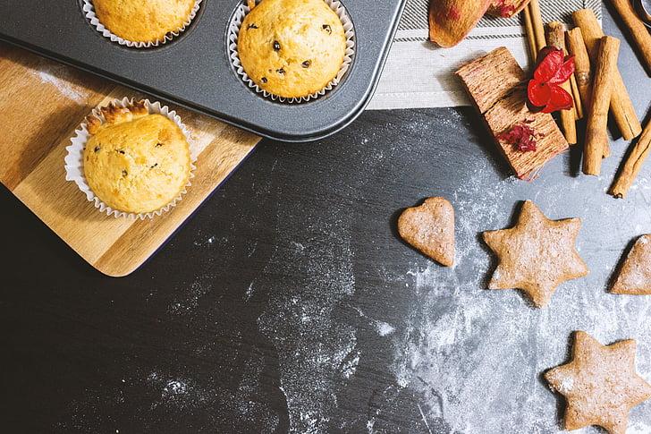 jõulud, Holiday, talvel, küpsetamine, küpsised, muffinid, köök