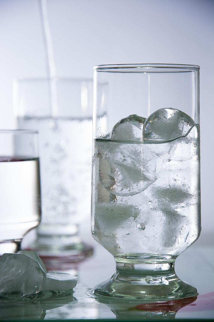 vode, LED, steklo, tekočina