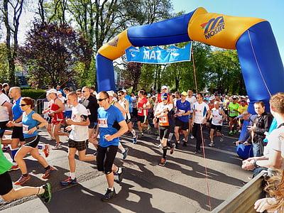 maraton, teče, šport, tek, dirka, igre, Atletika