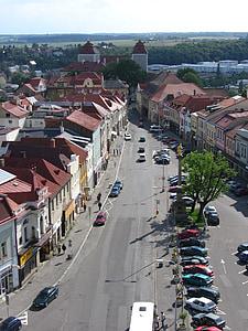 Mlada boleslav, Tsjekkia, Square, historie, Street, arkitektur, bymiljø