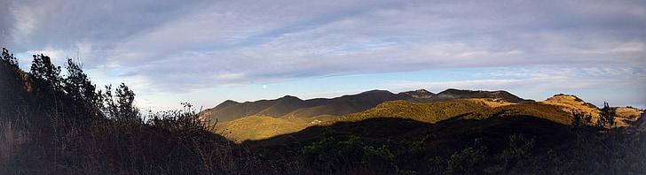 cảnh quan, trên đỉnh đồi, Quốc gia, Big sky