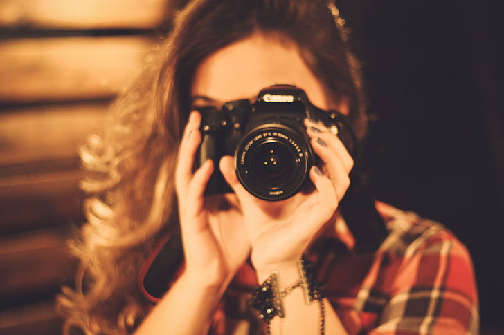people, girl, woman, camera, photographer, photography themes, camera - photographic equipment