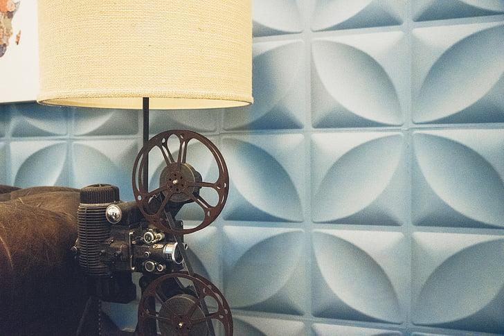 cinema, pel. lícula, vell, anyada