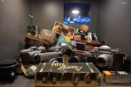 càmera, passat, càmera de fotos, vell, retro, càmera vell, analògic