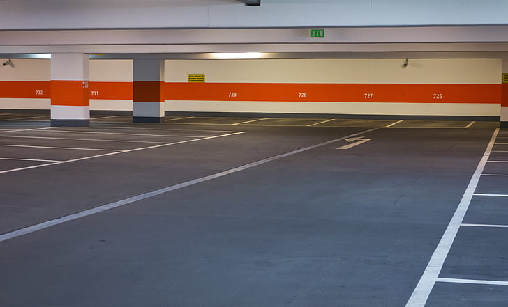 multi storey car park, park, flat, park level, parking, number, alternate space