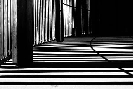 light, shadows, pattern, stripes, lines, interior, design