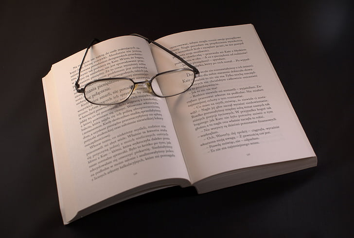 book, glasses, reading, vacations