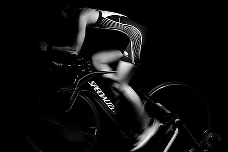 remise en forme, formation, matériel, exercice, femme, femelle, Force