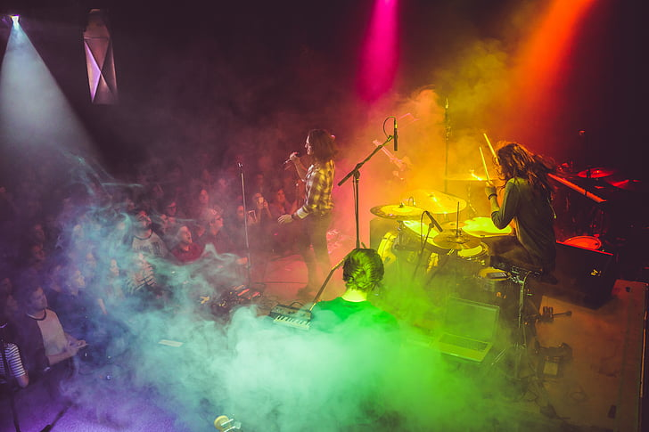 abstract, art, audience, band, celebration, colorful, colourful